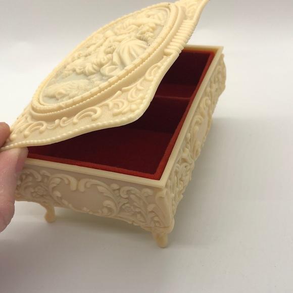 Vintage Victorian Revival Jewelry Box